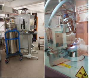 Figure 3: The University of Melbourne X-ray diffractometer.